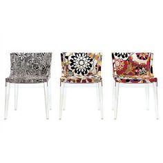 Kartell Mademoiselle Chair with Missoni Fabrics