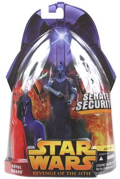 Revenge of the Sith Carded Royal Guard (Senate Security) (Blue) C-9