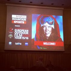 Great evening at the @eoft European outdoor film tour in Bristol last night. So many cool films to make you want to get outside and go on an adventure  #eoft #bristol #outdoor #adventure #film #lifestyle #active #mountaineering #alpinism #skiing #freeriding #exploring #inspiration by charlottehbest