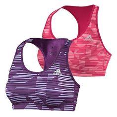 8ba02a664fcfe Adidas Womens SS14 Techfit Print Bra Netball