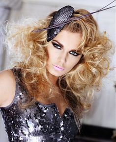Witch Hairstyles Witch Hair With Fascinator  Halloween  Pinterest  Fascinator And