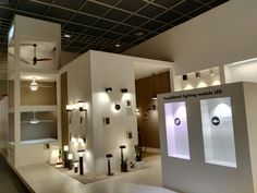 Faro Barcelona attended the biennial fair Light+Building for the fourth time. Electrical Stores, Showroom Ideas, Lighting Showroom, Light Building, Shop Interior Design, Light Up, Barcelona, Display, Shape