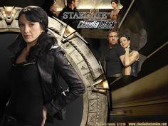 Claudia Black as Vala Maldoran on #Stargate #SG1 - loved this character.