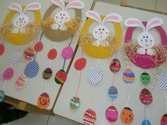 Easter Art, Easter Crafts For Kids, Easter Eggs, Easter Activities, Preschool Crafts, Activities For Kids, Ester Crafts, Class Decoration, Happy Easter