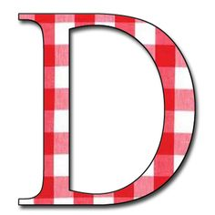 Capital+Letter+D+red+gingham+Free+Scrapbook+Alphabet.jpg (1200×1200)