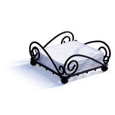 Scroll Flat Napkin Holder