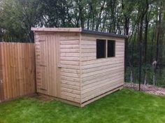 shed option essex pent standard wooden garden shed ace sheds