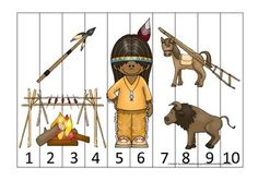Educational Activities For Preschoolers, Number Activities, Preschool Activities, Arkansas City Kansas, Sight Word Flashcards, Number Sequence, Plains Indians, French Classroom, Puzzle Pieces
