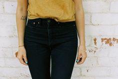 #denim #jeans #highwaisted