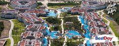 El exclusivo hotel Platinum Yucatan Princess All Suites and Spa Resort Adults Only es un resort con 475 habitaciones, sólo para Adultos, frente a la playa de la Riviera Maya, en Playa del Carmen. Este hotel de lujo posee una arquitectura contemporánea y ofrece un atractivo plan Todo Incluido con actividades recreativas. Los huéspedes del complejo cuentan con acceso y uso de las instalaciones del Grand Riviera Princess. #OjaláEstuvierasAquí