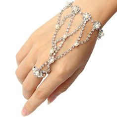 9e824dfd1 Silver Plated Hollow Stars Chain Charm Bracelet For Women - Wide Silver  Chain Bracelet
