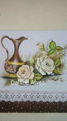 Resultado de imagem para daiane alves pintura em tecido