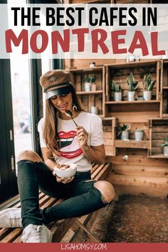 Get a list of the best cafes in Montreal including the most Instagrammable cafes in Montreal from top lifestyle influencers. #montreal #montrealcafes #montrealcanada | cafes in Old Montreal | Montreal cafes | cafes in Montreal | Tommy Cafe Montreal | Cafe Parvis Montreal | Montreal Canada cafe | Montreal cafe restaurant | Montreal Instagram spots | most Instagrammable places in Montreal | Montreal restaurants best | Montreal food guide | Montreal food restaurants Montreal Food, Montreal Travel, Montreal Quebec, Montreal Canada, Quebec City, Toronto, Coffee Around The World, Discover Canada, Vancouver Travel