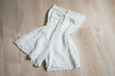 lace romper DIY that looks reasonably easy:)