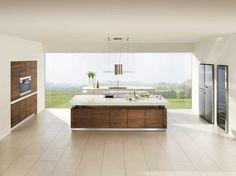 Ideen für die Renovierung: 7 moderne Küchen mit Kochinsel als ... | {Moderne küchen mit kochinsel holz 21}