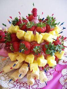 Receta de tarta de frutas | Fiestas infantiles y cumpleaños de niños
