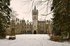 Balintore Castle (Angus, Scotland) Restoration Project: January 2014