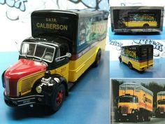 camión/truck Berliet GLR França 1956  Calberson   Ixo/Altaya 1:43