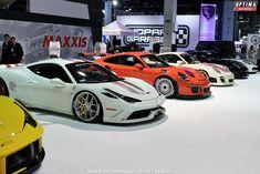 Ferrraris, Porsches & more on display at the 2015 SEMA Show in Las Vegas.