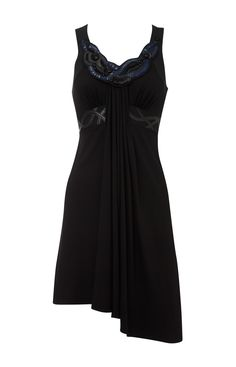 Karen Millen Beaded Black Dress