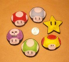 Mario brooches