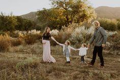 Rustic fall family photos