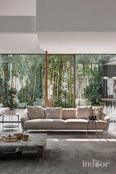Green style sofa