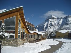 The Waterton Lakes Lodge is one of only three properties open in the winter off-season, in Waterton Lakes National Park. Home to Vimy's Lounge & Grill and fantastic mountain vistas!