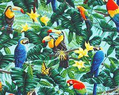 Toucans and Parrots - Azure