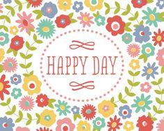 happy day by kensiekate on Etsy, $7.00