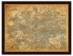 London Heritage Map | Map It Out | One Kings Lane
