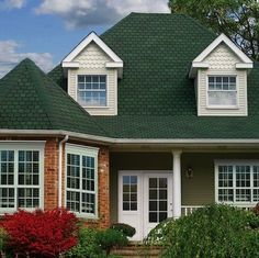 Best Sage Green House Siding Green Siding Cream Trim Black 640 x 480
