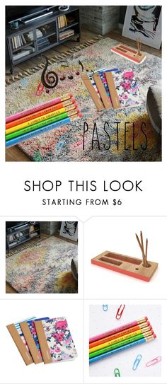 """""""crayons"""" by raluca48 ❤ liked on Polyvore featuring interior, interiors, interior design, home, home decor, interior decorating, West Elm, Universo Positivo, Joules and Benzara"""