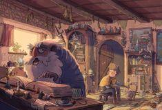 Tim Probert - The Book of Three Character Inspiration, Character Art, Character Design, Storyboard, Children's Book Illustration, Art Reference, Illustrators, Fantasy Art, The Book