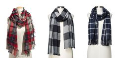 From Tartan to grid check, the plaid scarf is an accessory we can't do without.