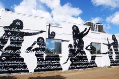POW! WOW! HAWAII 2016, by USUGROW #powwowhawaii #powwowworldwide #usugrow #illustration  #calligraphy #mural