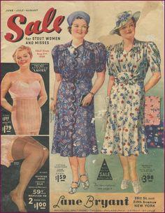 Lane Bryant sale summer 1939