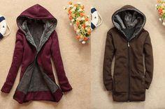 Layered inside jacket