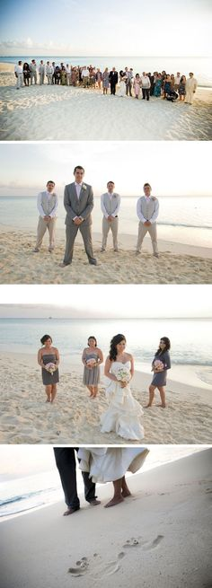 love these beach shots, especially the bottom with the rings in the sand :)