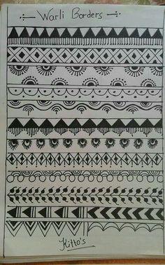 Worli Painting, Pottery Painting, Fabric Painting, Madhubani Art, Madhubani Painting, Tribal Drawings, Tribal Art, Traditional Paintings, Traditional Art