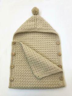 Simple Baby Sleeping Bag Crochet Pattern by Deborah O & # s;- Einfache Babyschlafsack Häkelmuster von Deborah O & # Leary Simple Baby Sleeping Bag Crochet Pattern by Deborah O & # s; Leary – make-up secrets - Crochet Cocoon, Bag Crochet, Crochet Motifs, Baby Blanket Crochet, Crochet Gifts, Crochet Ideas, Crochet Projects, Sewing Projects, Booties Crochet