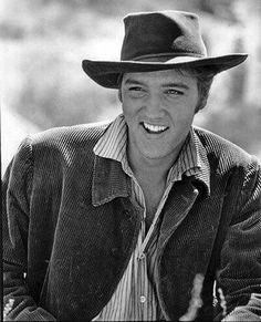 """Elvis in his first movie """"Love Me Tender"""""""