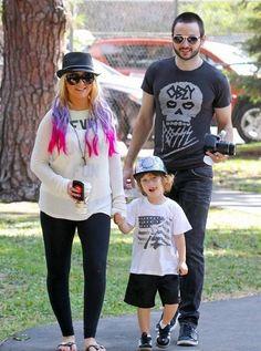 With her son Max Liron (from Jordan Bratman) and Matthew Rutler