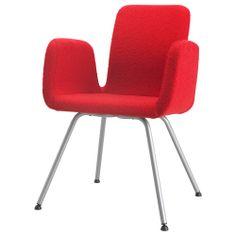 PATRIK Konferansestol - Fagrabo rød - IKEA