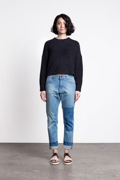 Hope Stay Patch Jean