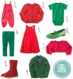 Red & green X-Mas Fashion // Rot Gruene Mode