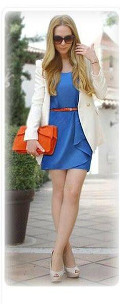 #amity #amityireland #www.myamity.ie #blue #pencildress #orange
