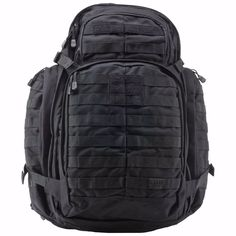 5.11 TACTICAL RUSH 72 BACKPACK, BLACK - BRAND NEW WITH TAGS  #511Tactical