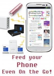 Do you like having your phone charged?  Here's 5 handy items that help feed my phone charging obsession.
