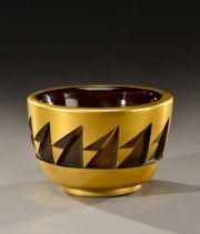 Jean LUCE (1895-1964) coupe en verre